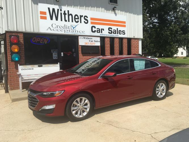 2020 Maroon /Gray Chevrolet Malibu LT (1G1ZD5ST9LF) with an 1.5L L4 DOHC 16V engine, 6A transmission, located at 204 Hwy. 16 East, Carthage, MS, 39051, (601) 267-7277, 32.734486, -89.531761 - Photo #0